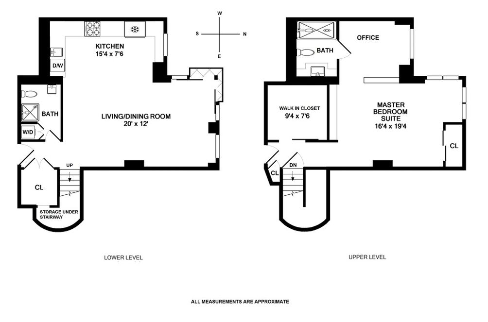 21 South End Avenue #627 floor plan