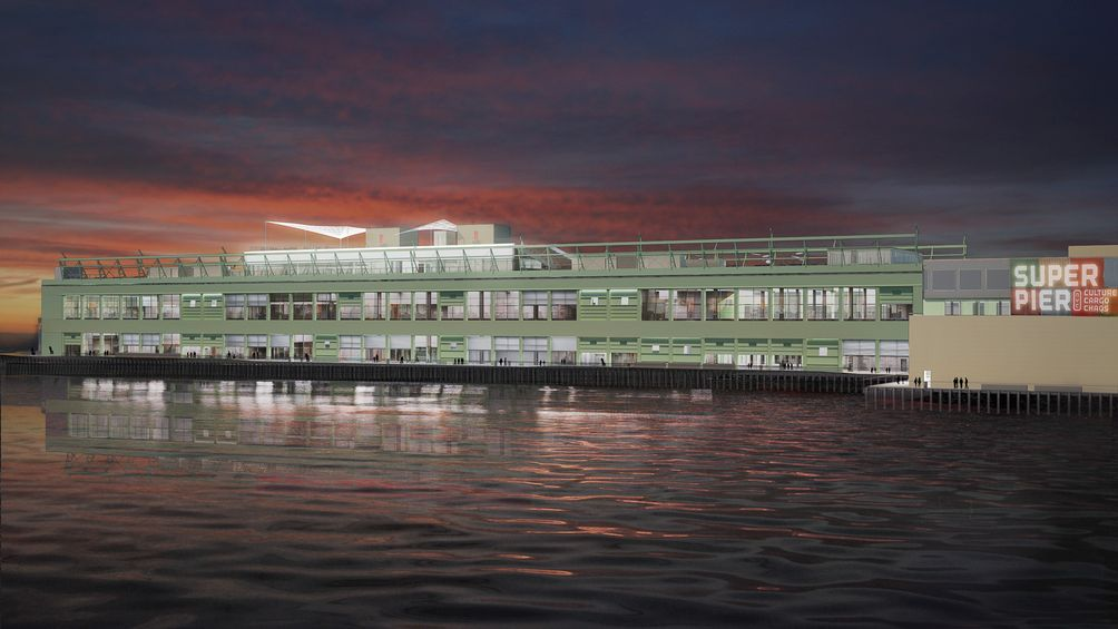 google s new york expansion at pier 57 gets glassed cityrealty