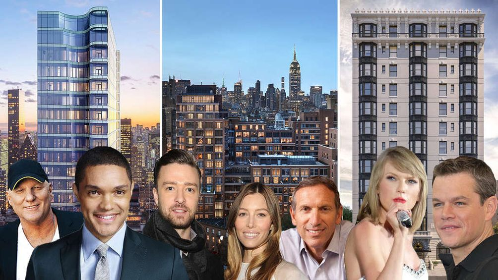 Stars In Nyc The 15 Biggest Celebrity Move Ins Of 2017 Cityrealty