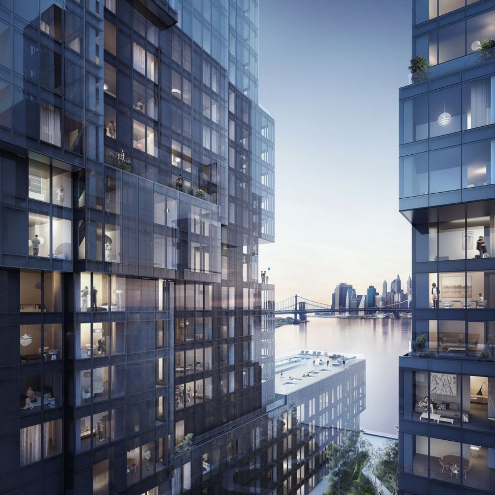 Williamsburg Apartments: Teaser Site Launches For 420 Kent Avenue, 800+ Waterfront