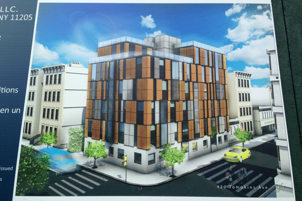 420 Tompkins Avenue old rendering