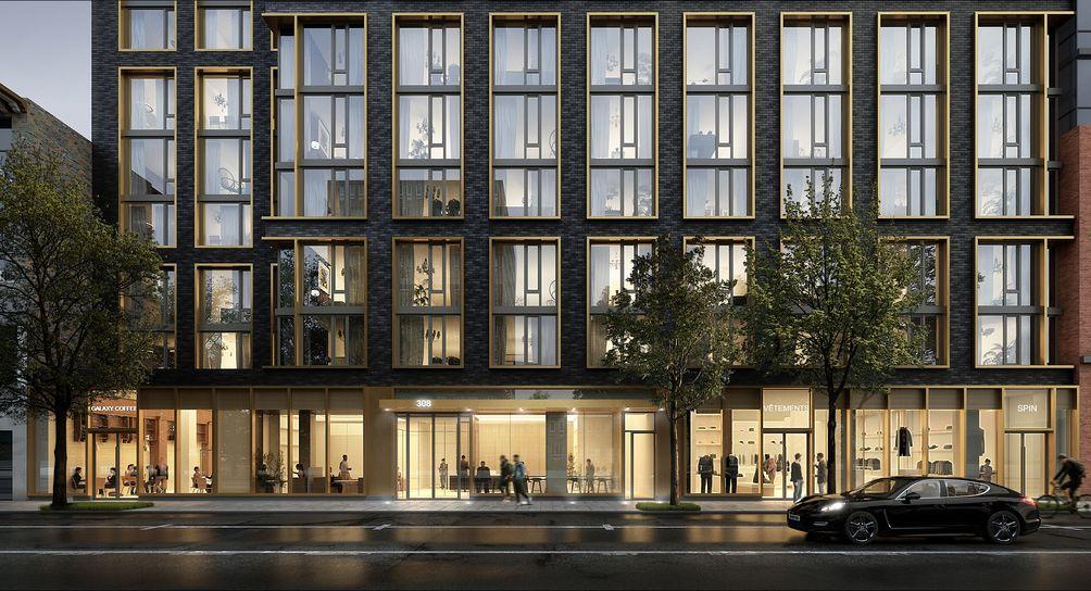 308 Livingston Street, Brooklyn, Fogarty Finger Architects, Lonicera Partners, rental