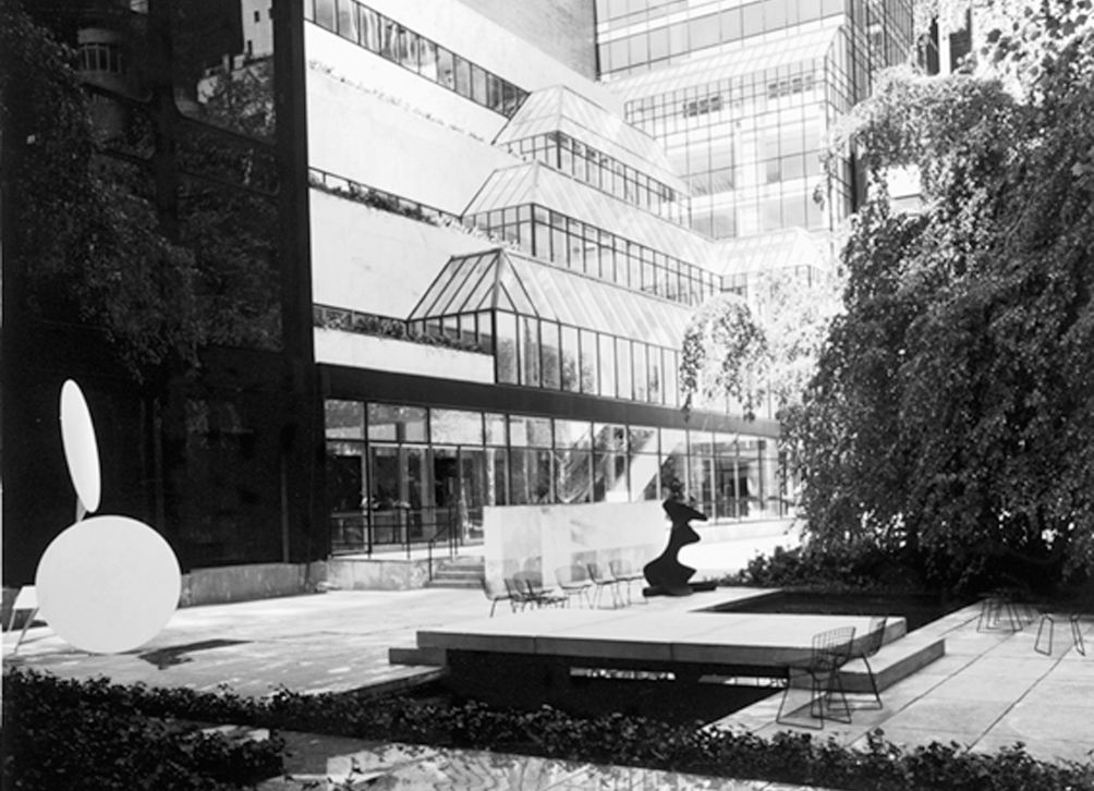 Pelli's addition for MoMA, 1984