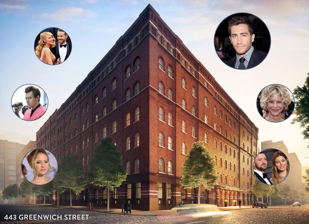 Celebrities at 443 Greenwich Street