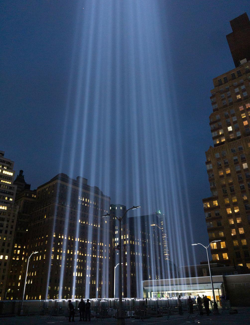 Tribute in Light, September 11, 2018