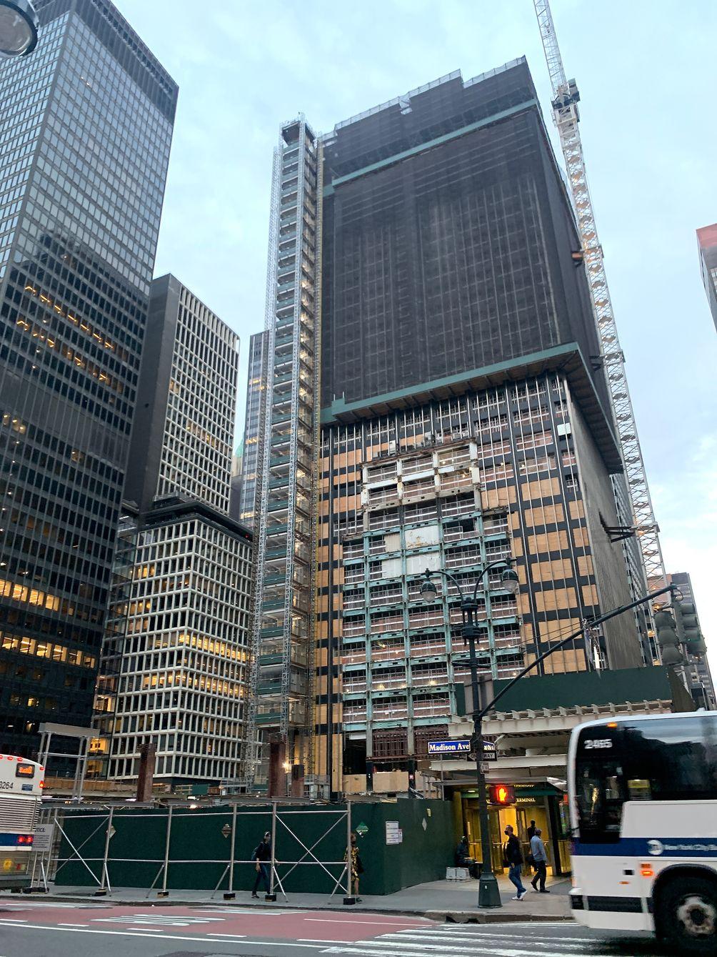 270 Park Avenue demolition