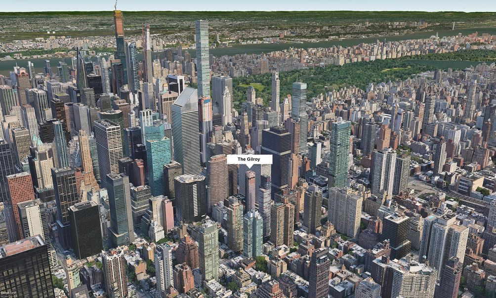The Gilroy aerial new york