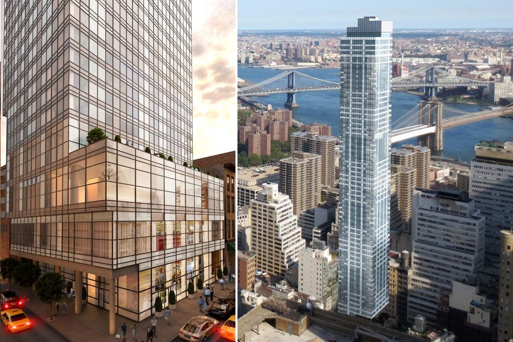 Manhattan Skysers New York Skyline Nyc Projects Real Estate Manhatttan Apartments