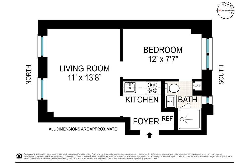 324 West 83rd Street #1E floor plan