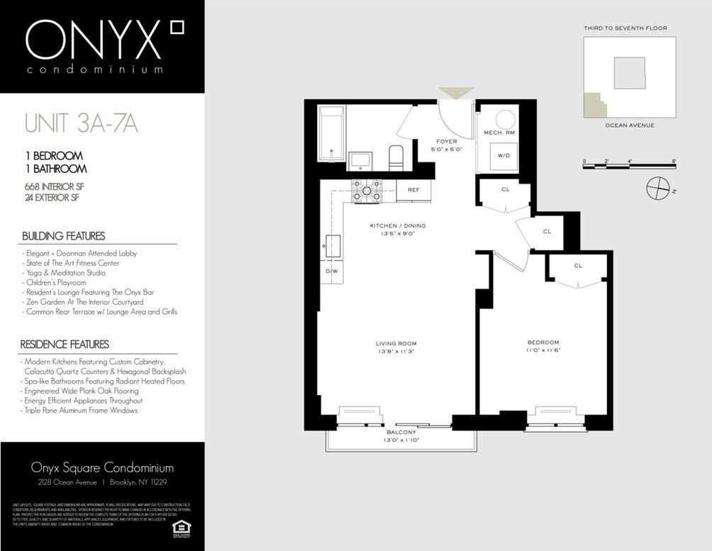 2128 Ocean Avenue #5A floor plan