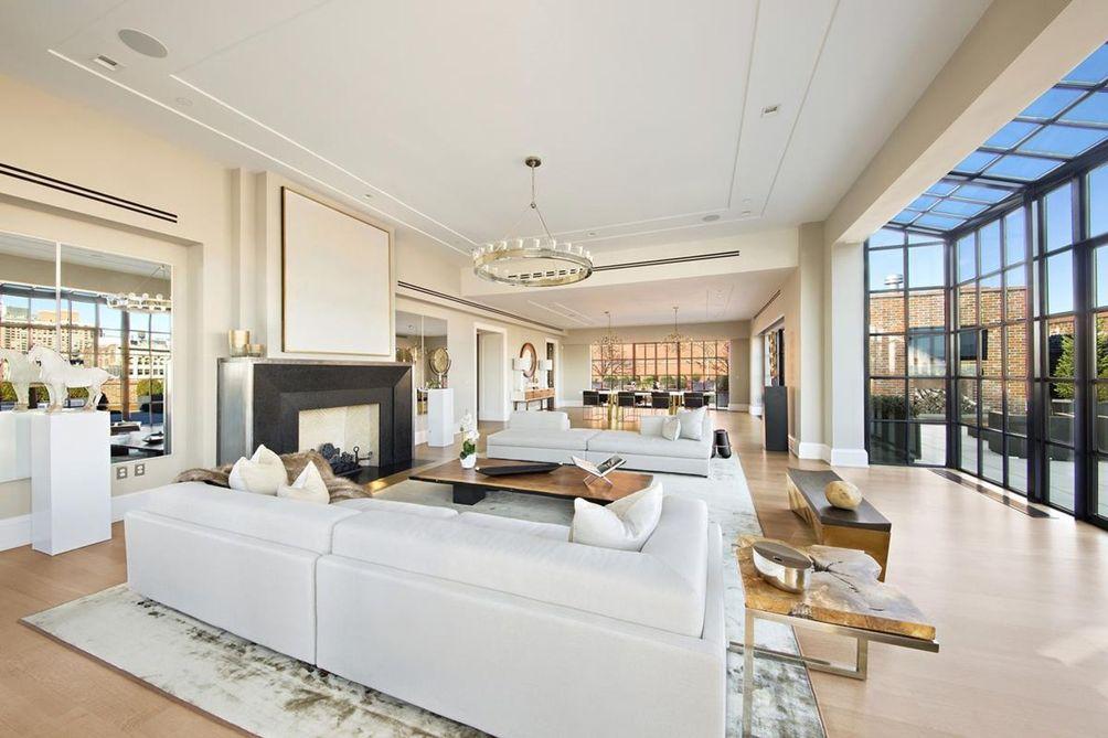 100 Barclay Street interiors