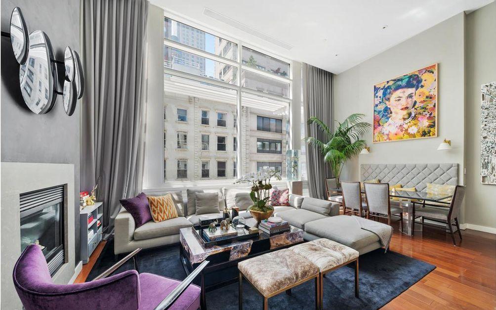 16 Warren Street interiors