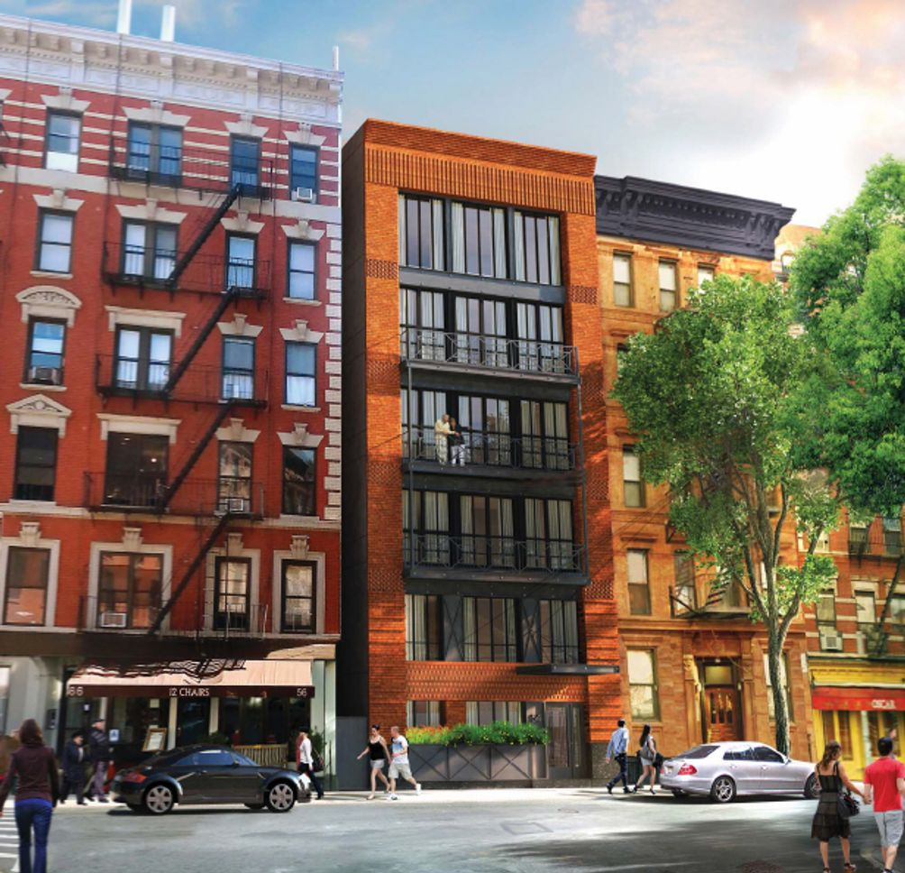 Apartments Downtown Manhattan: New Soho Condo Building At 54 MacDougal Street Tops Off
