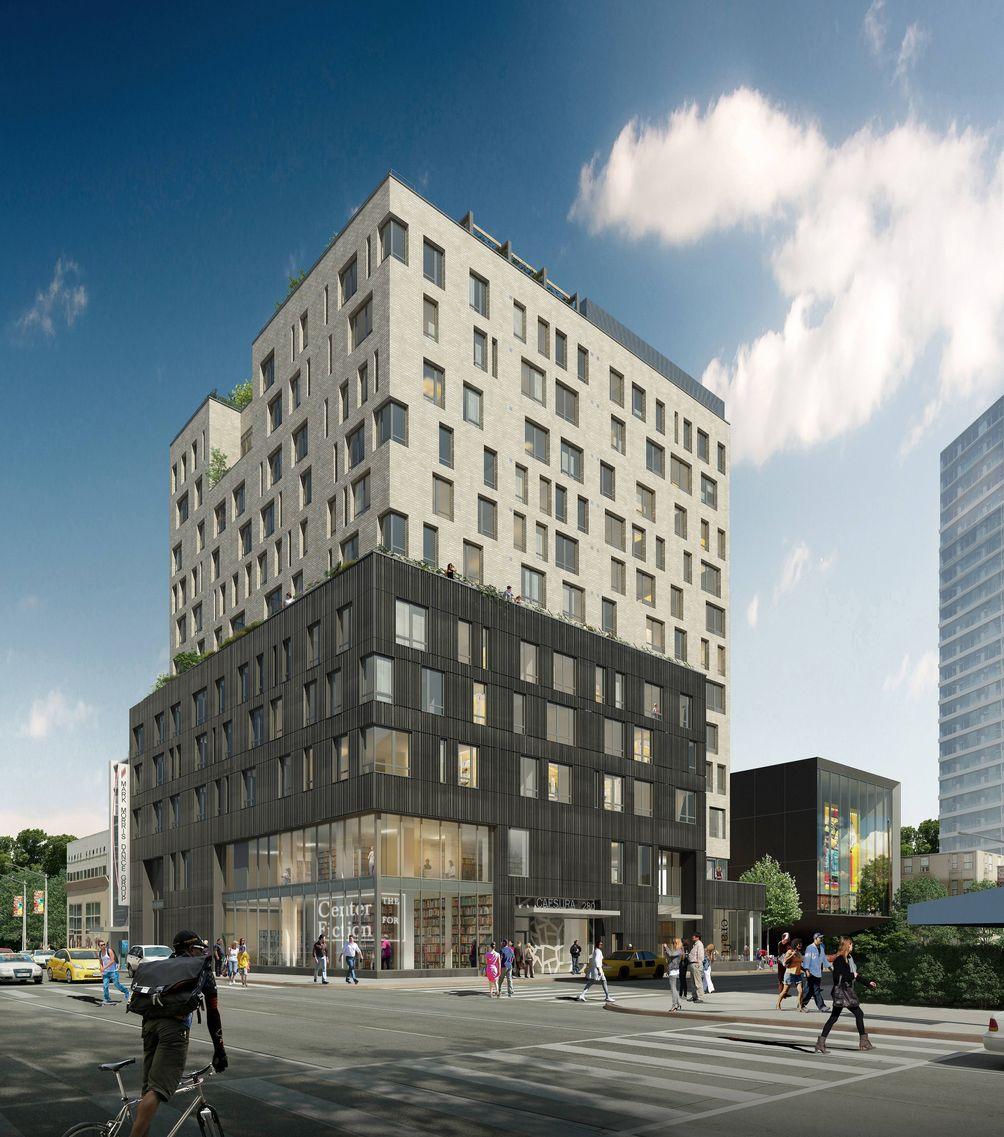280 Ashland Place rendering