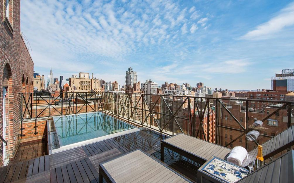 18 Gramercy Park South rooftop