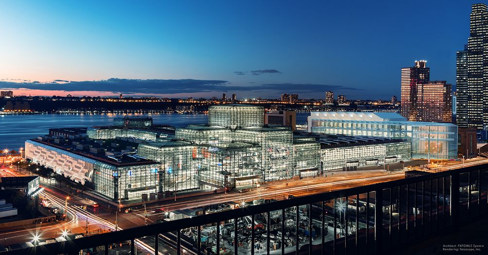 The Javits Center\'s $1.5 Billion Expansion Now in Full Swing; Watch ...