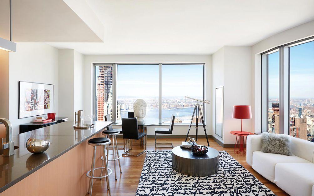 Home interior 8 Spruce Street NYC