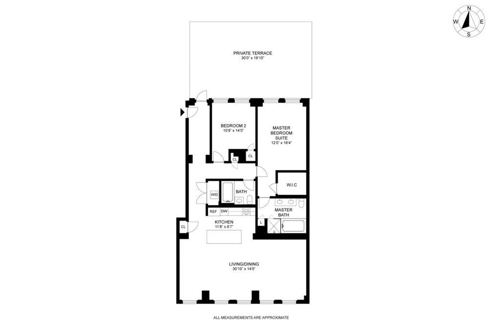 77 Reade Street #2EAST floor plan