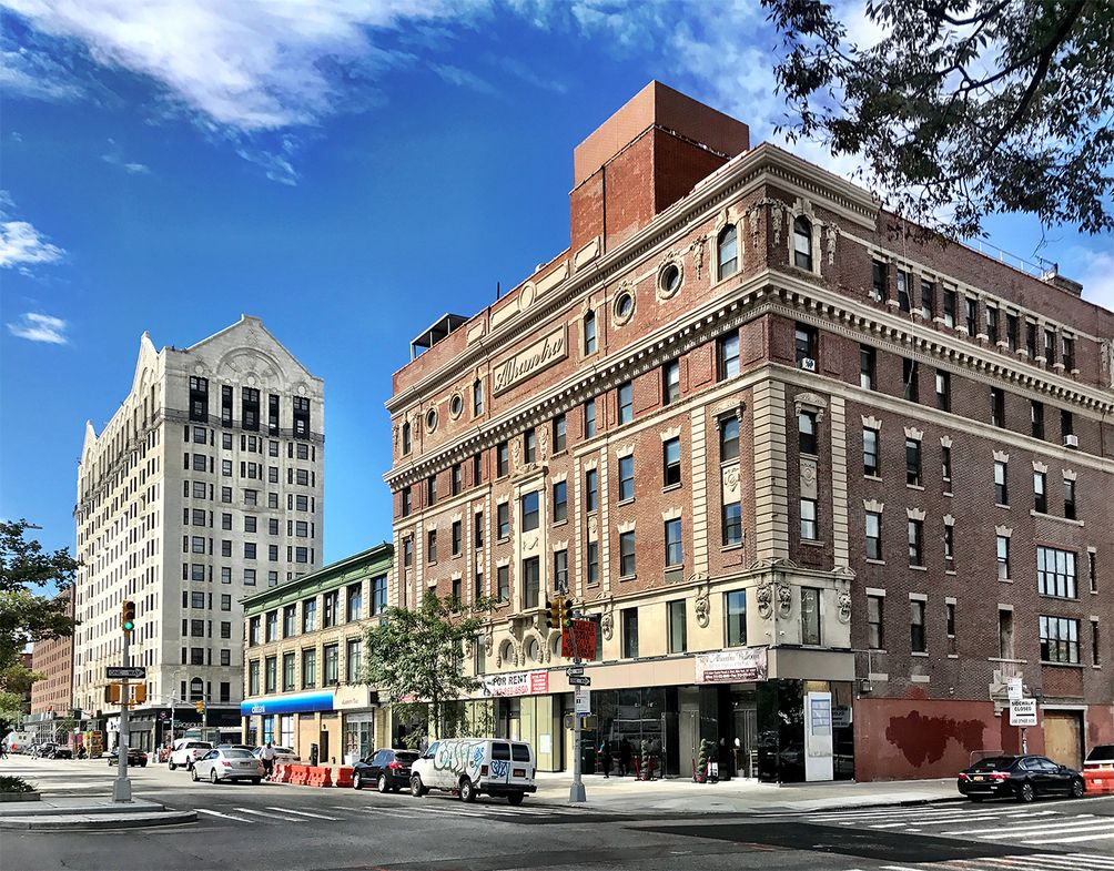 The Alhambra Theater Building restoration