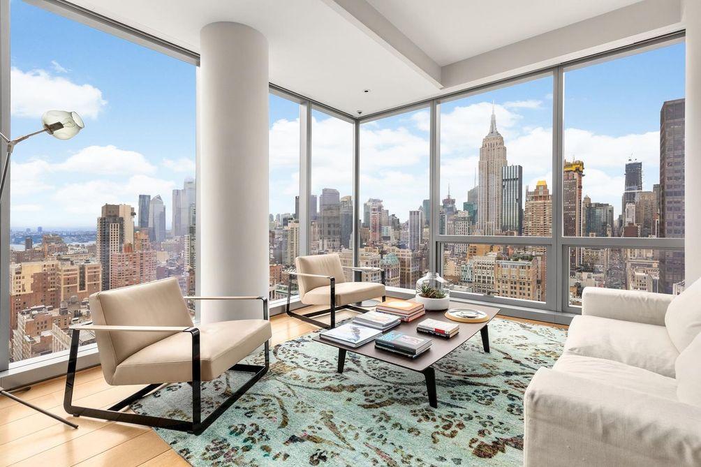 NYC skyscrapers condos