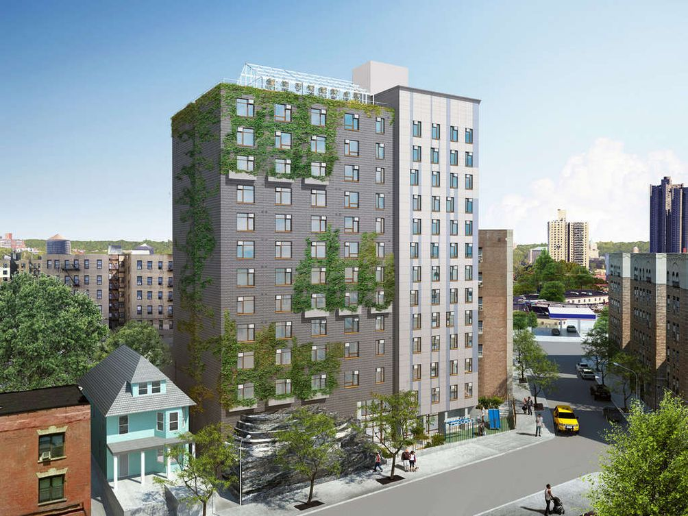 Bedford Green House, 2865 Creston Avenue, Edelman Sultan Knox Wood Architects, Project Renewal, Bedford Park, Grand Concourse, Bronx, affordable housing