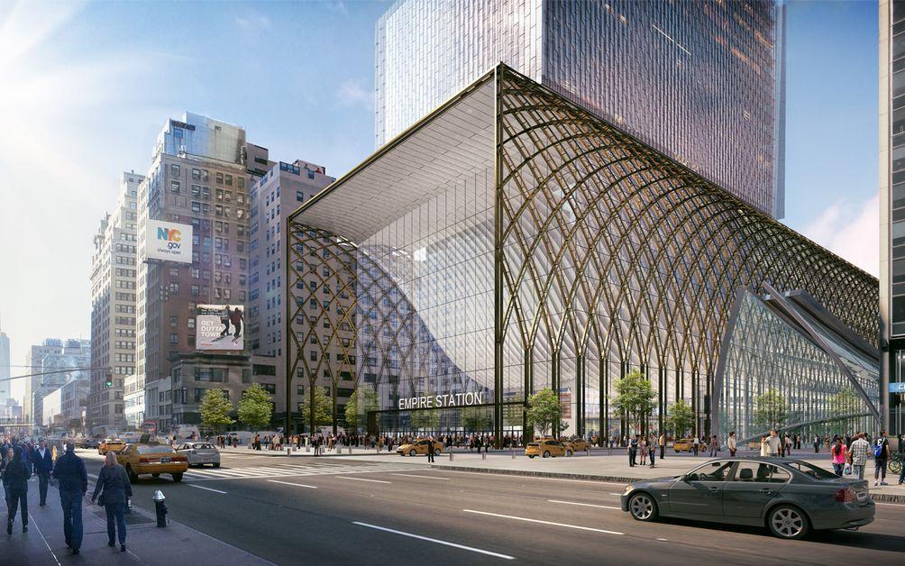New penn station renderings