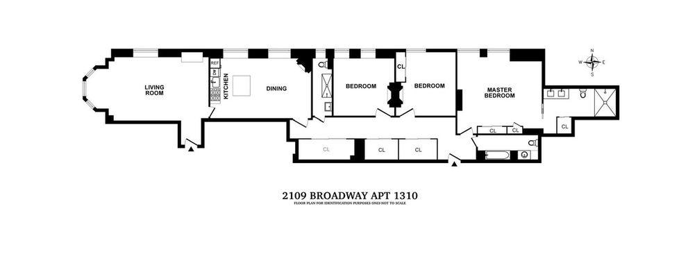 2109 Broadway #13-0210 floor plan
