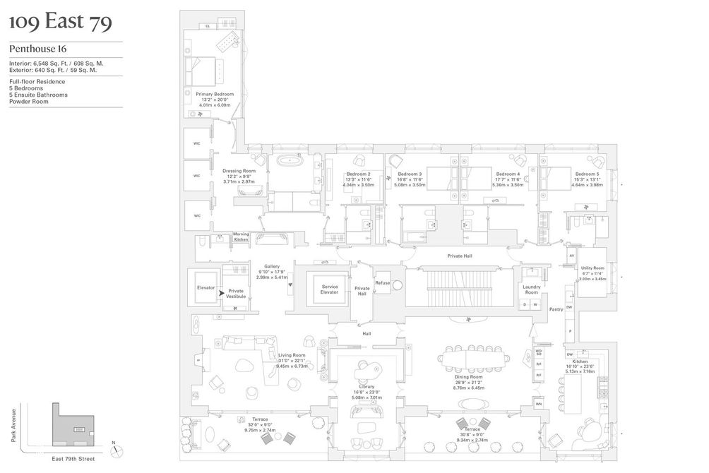 109 East 79th Street floor plan