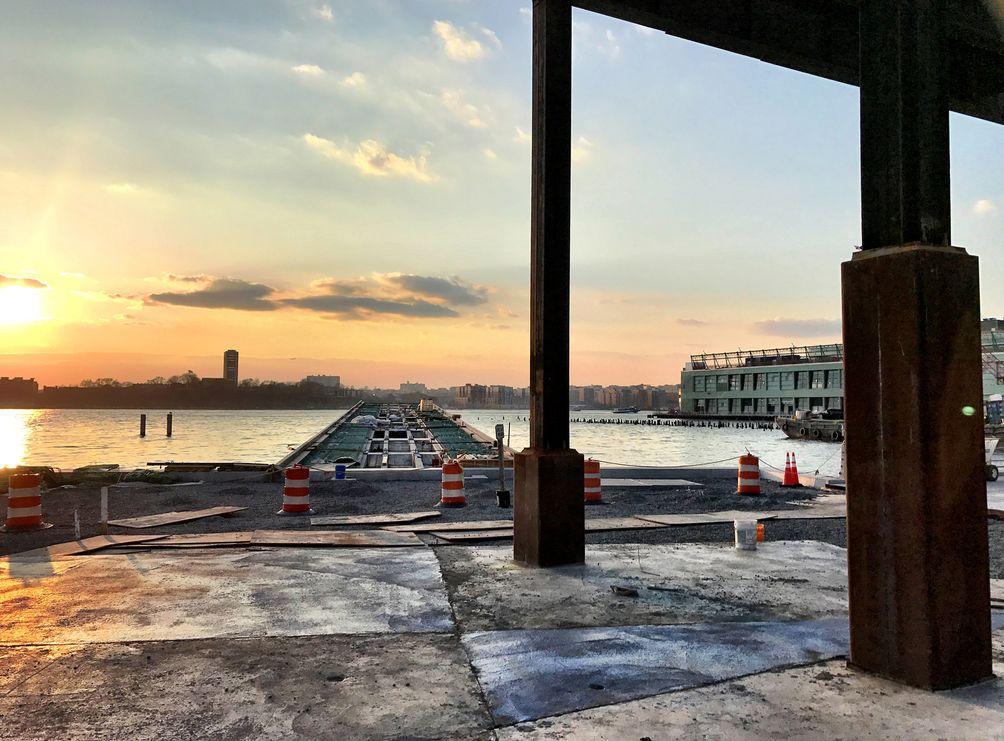 Pier55 construction 2018