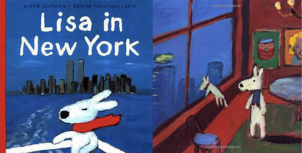 Lisa in New York Book