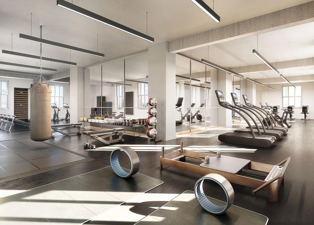 1 Wall Street gym
