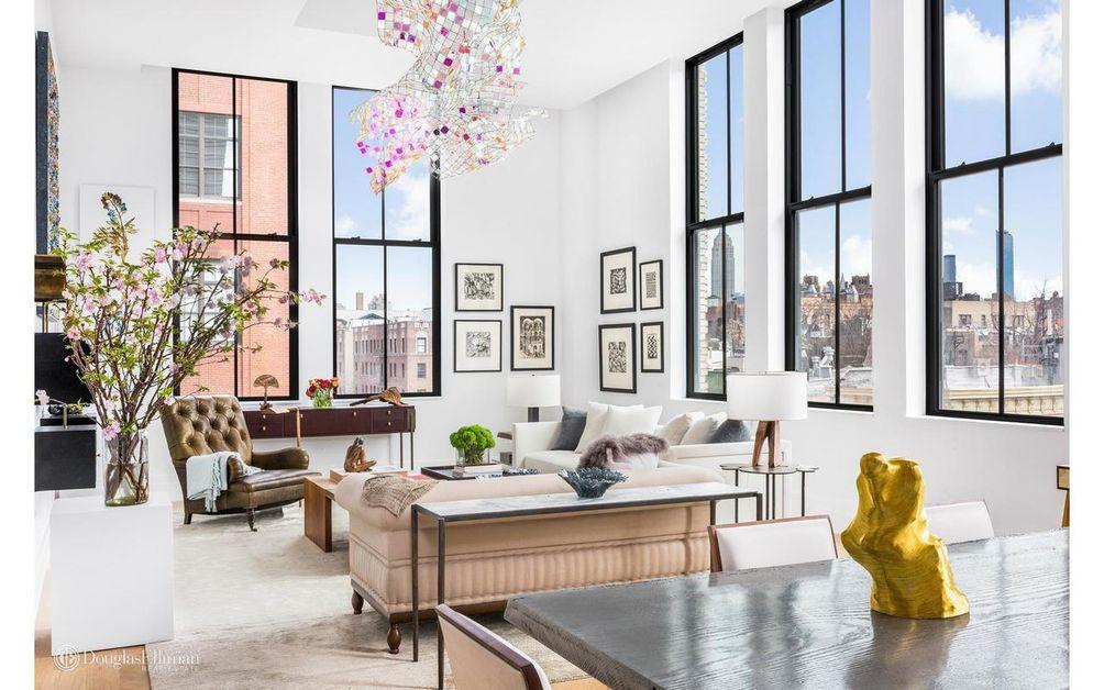 421 Hudson Street interiors