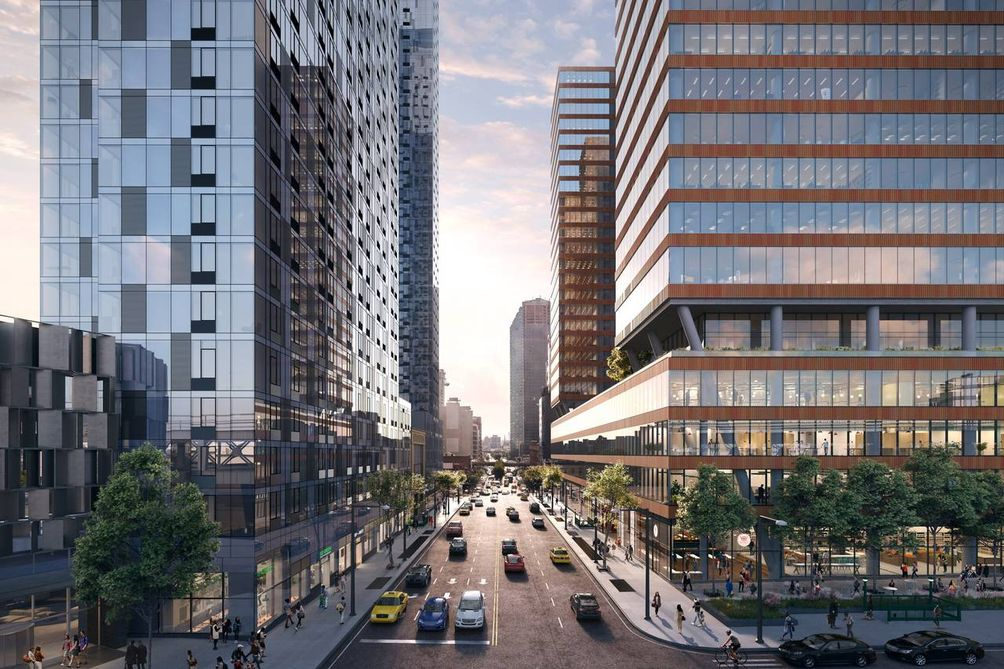 Construction Moves Forward On Tishman Speyer S One And