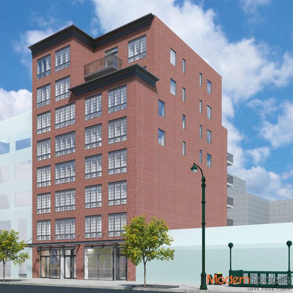 21-10 44th drive, the decker, lic, rendering, modern spaces