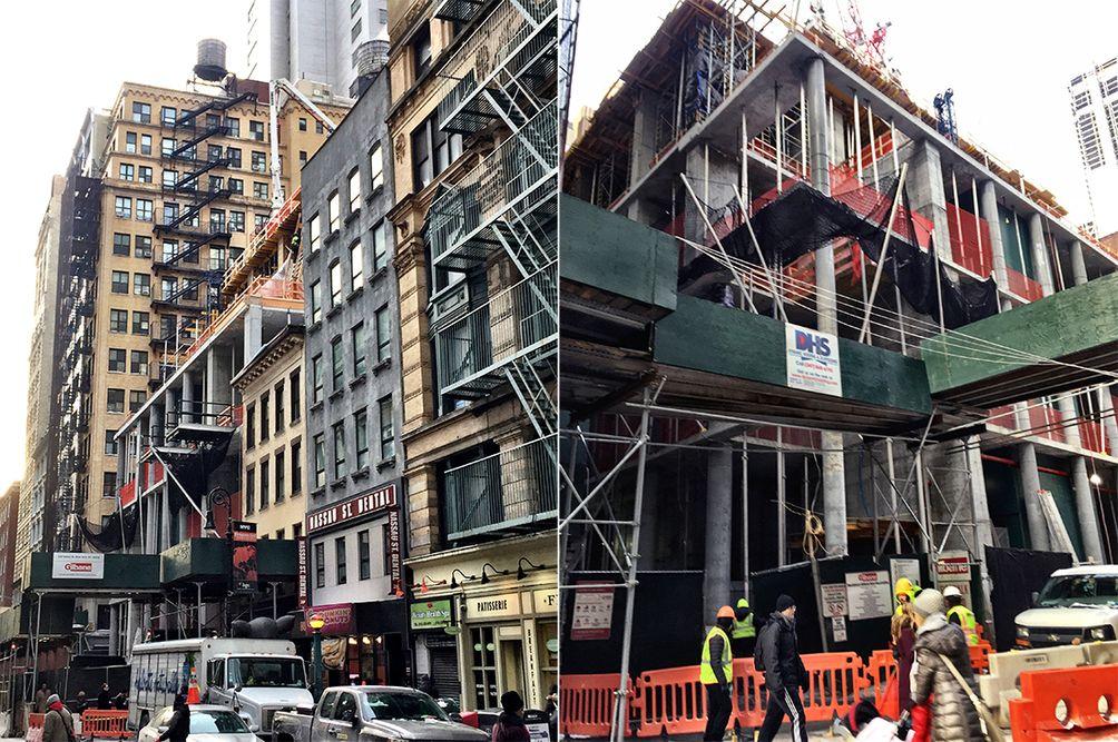 Manhattan skyscrapers, NYC towers, NYC architecture, New York development, Carmel Partners, 118 FUlton Street