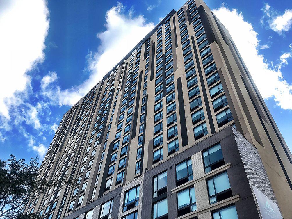 Rendering of Alvista Towers in Jamaica, Queens