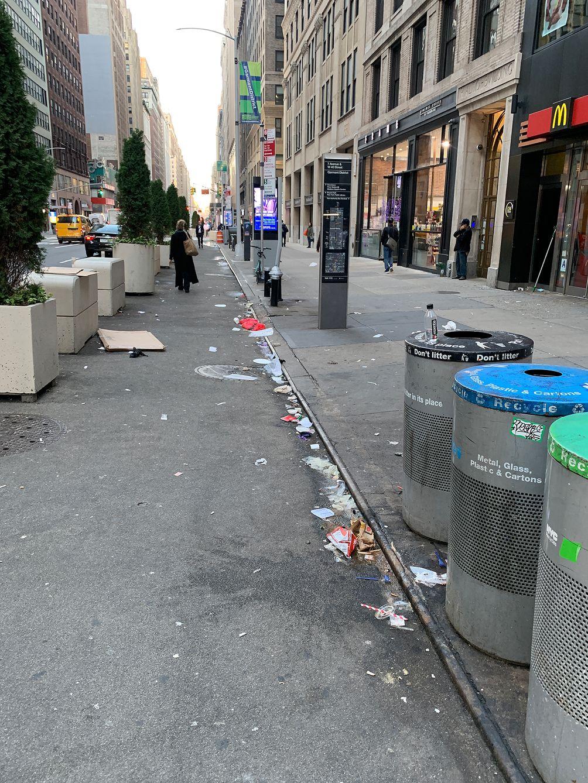 Manhattan sanitation