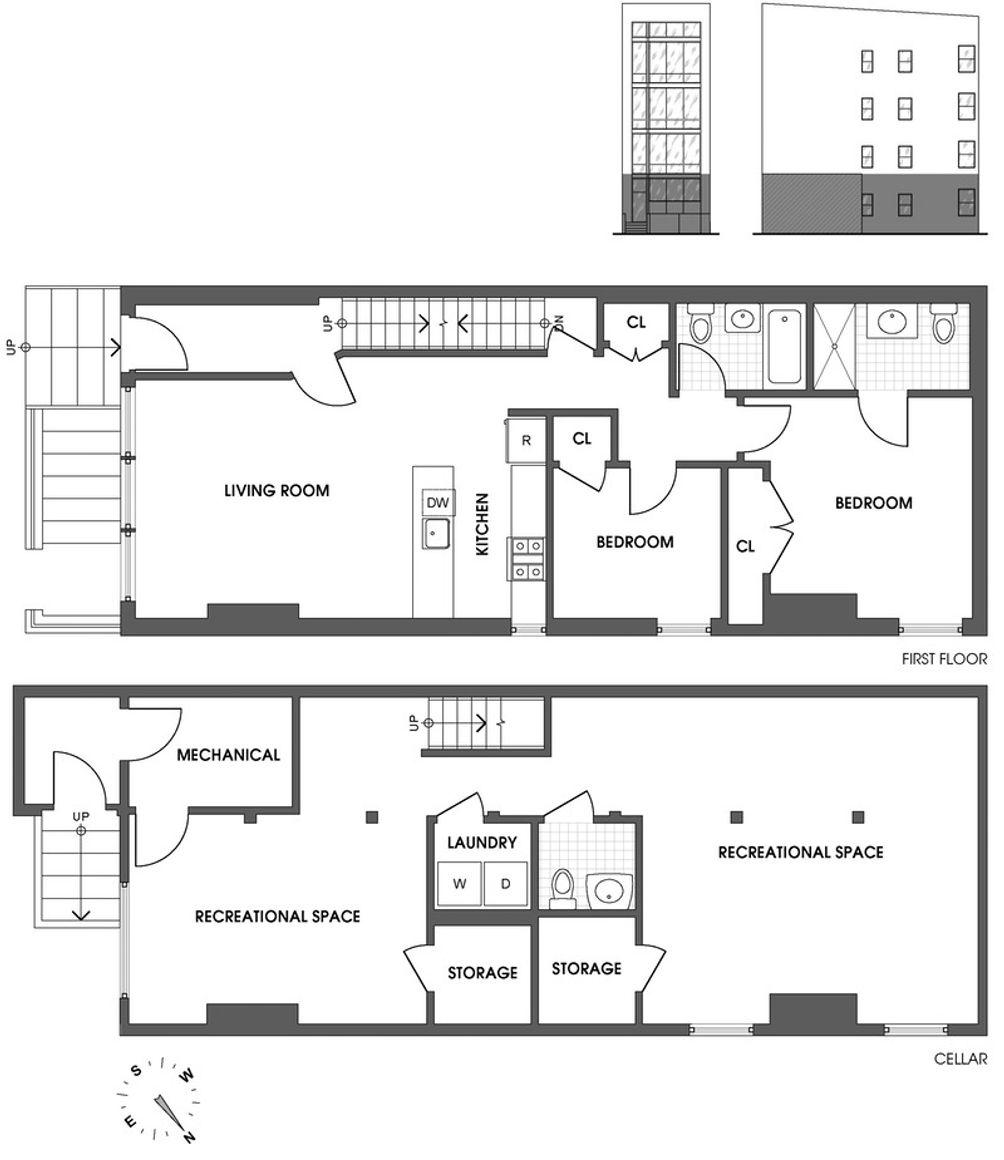 136 North 8th Street #1 floor plan
