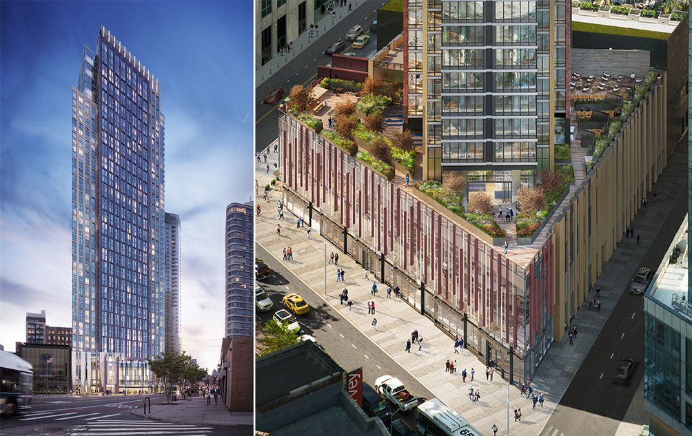 Leasing set to launch for gotham organization 39 s the for 250 ashland place brooklyn