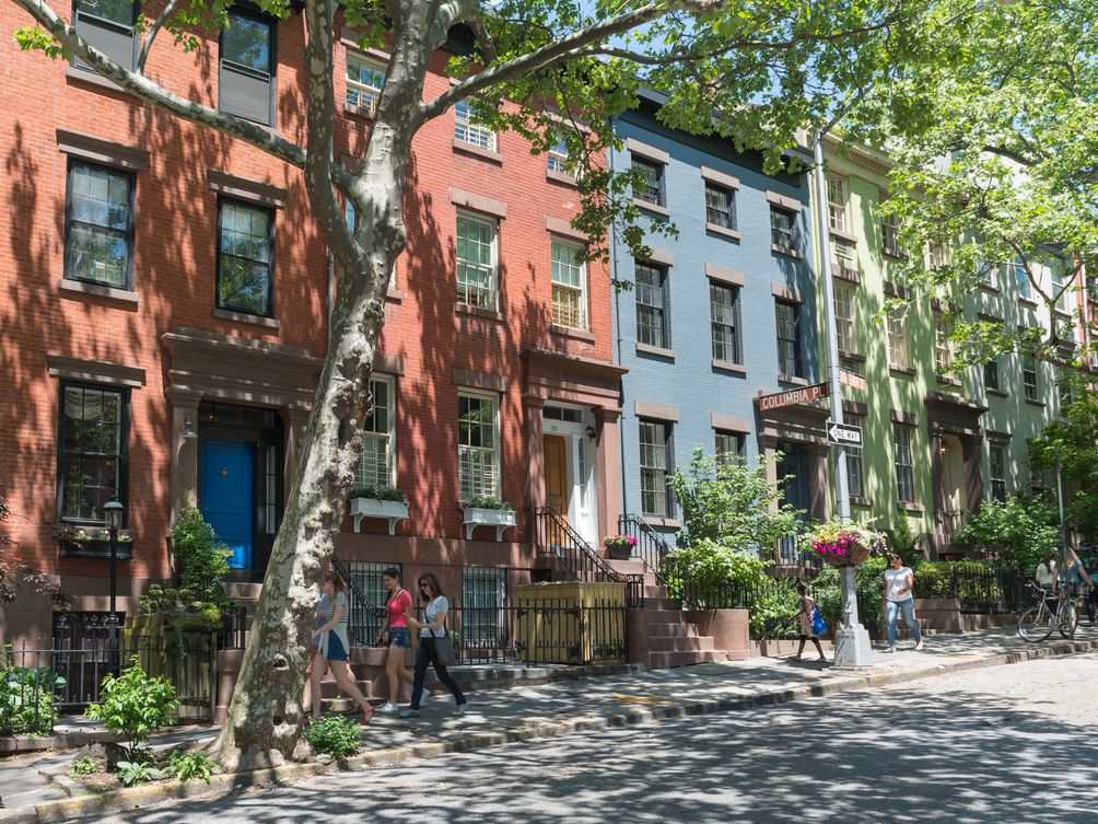 Brooklyn Heights Matt Damon houses