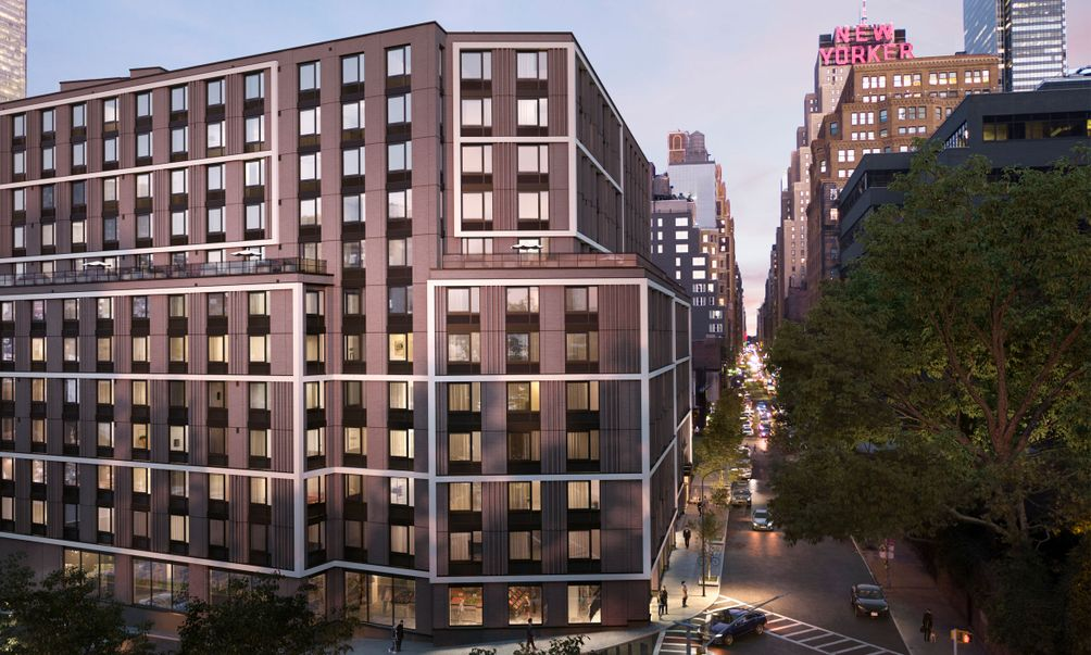 The Lewis at 411 West 35th Street in Midtown West