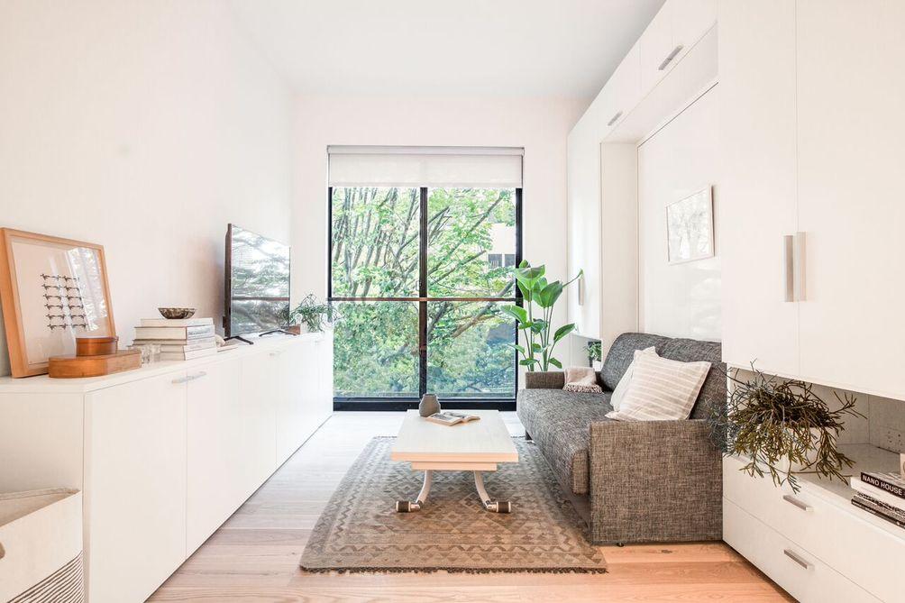 micro apartments, carmel place