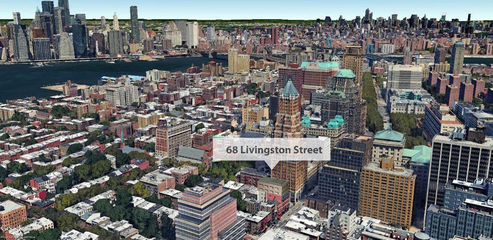 Google Earth rendering of 68 Livingston