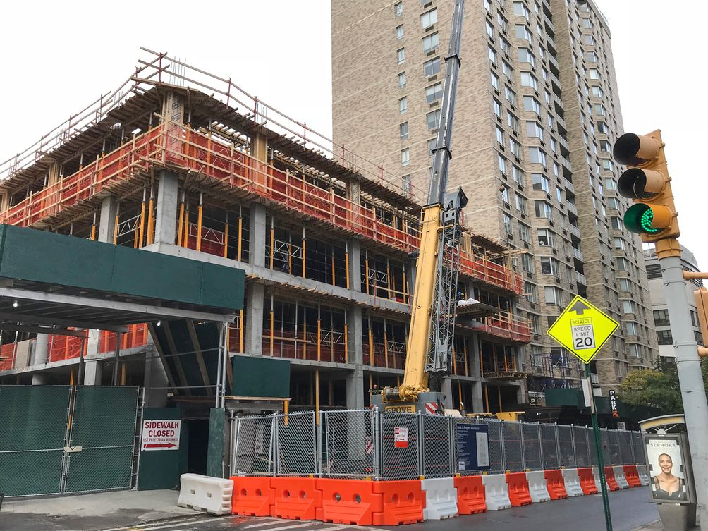 250 West 81st Street Construction 1