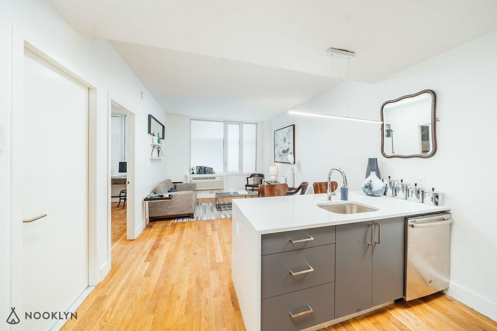 A model residence at 1247 Atlantic Avenue in Bed-Stuy
