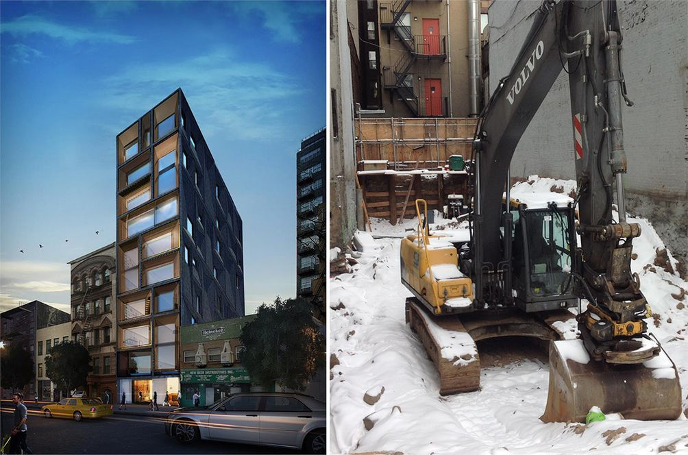 Lower East Side Development, LES constrution, Lower East Side apartments, downtown condos, New York apartments, NYC construction, renderings