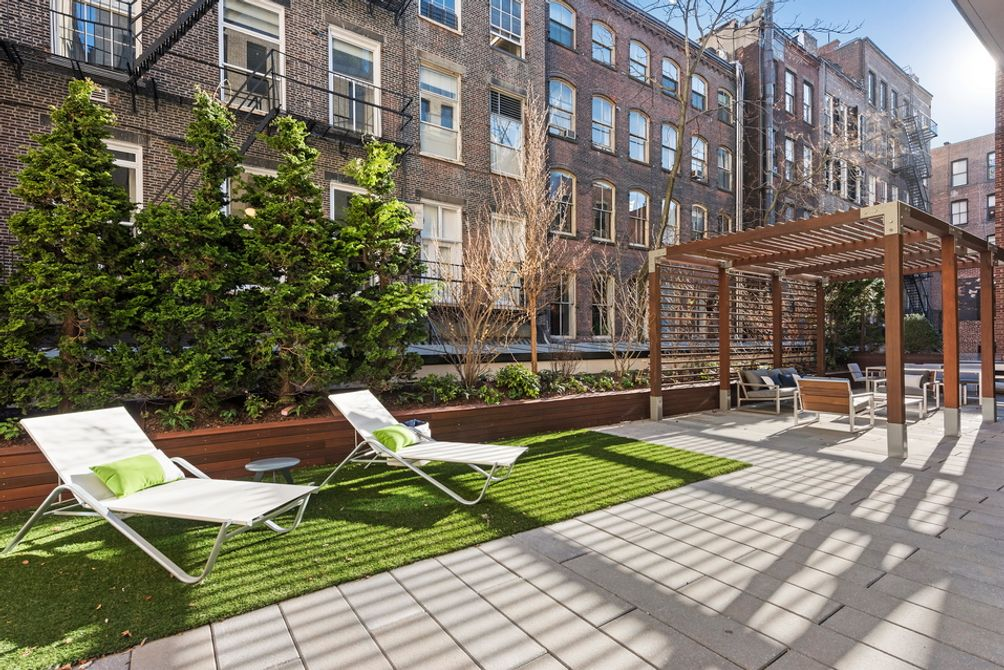 150 Wooster Street outdoor space