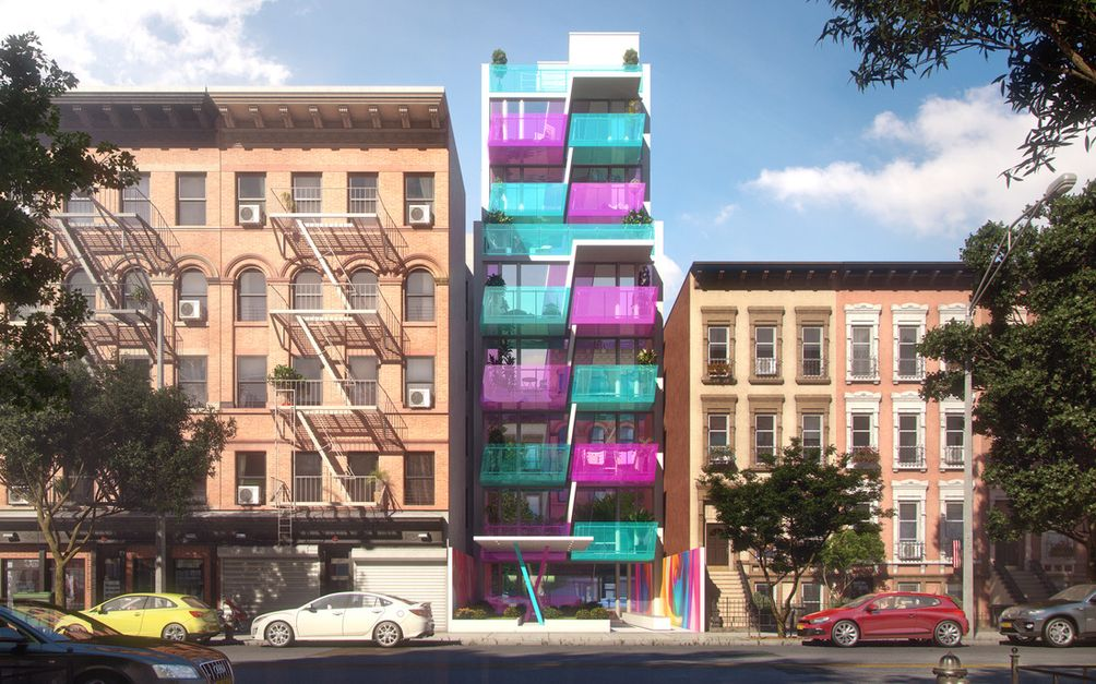 East Harlem apartments, Uptown constrution HAP Five