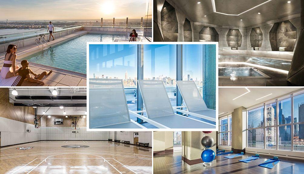 top ten NYC rental health & wellness amenities