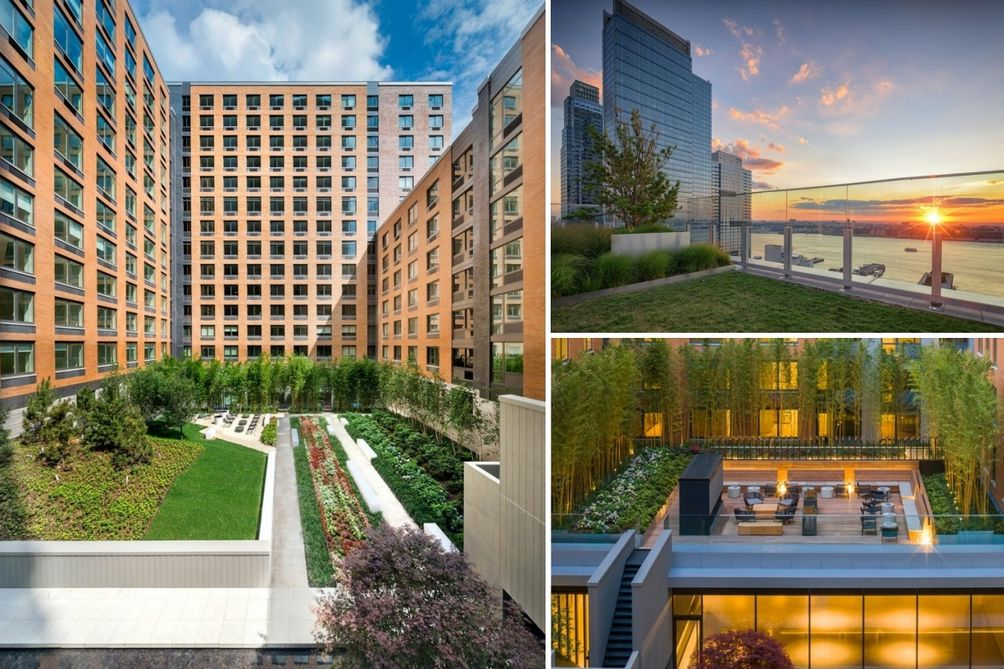 live at gotham west new listings at amenity filled rental complex